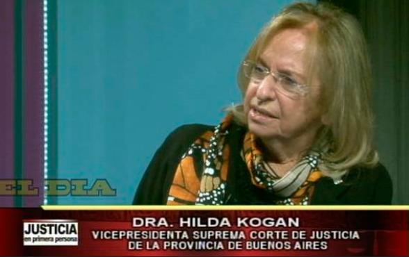 """Dra. Hilda Kogan: """"la justicia lenta no es justicia"""""""