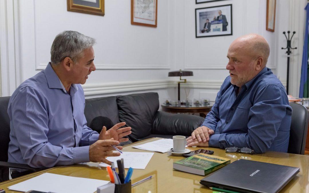 Ley de Autarquía: Encuentro con el vicepresidente de la Cámara de Diputados Dr. Ramiro Gutiérrez.