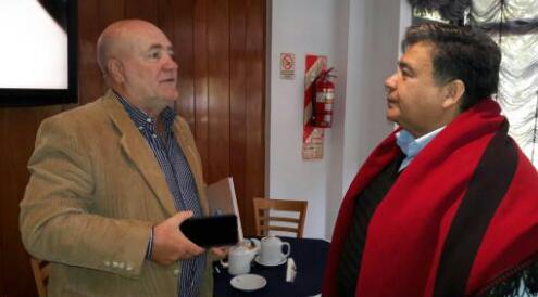 Encuentro con el Intendente de José C. Paz, Mario Alberto Ishii.