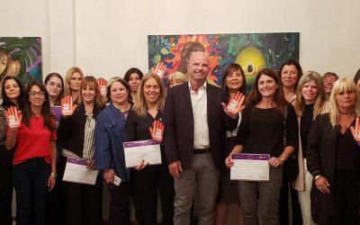 Finalizó la Jornada en Conmemoración del Día Internacional de la Eliminación de la Violencia contra la Mujeren la Asociación de Magistrados y Funcionarios de La Plata.