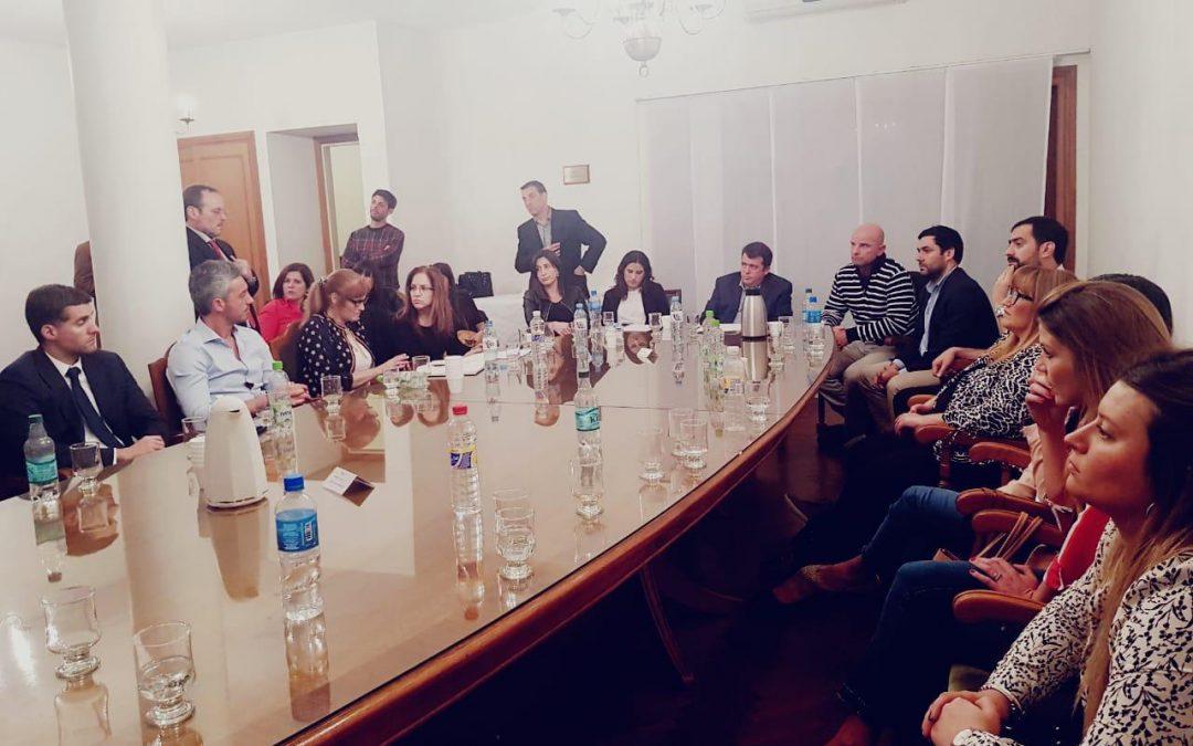 Reunión de Comisión de Funcionarios