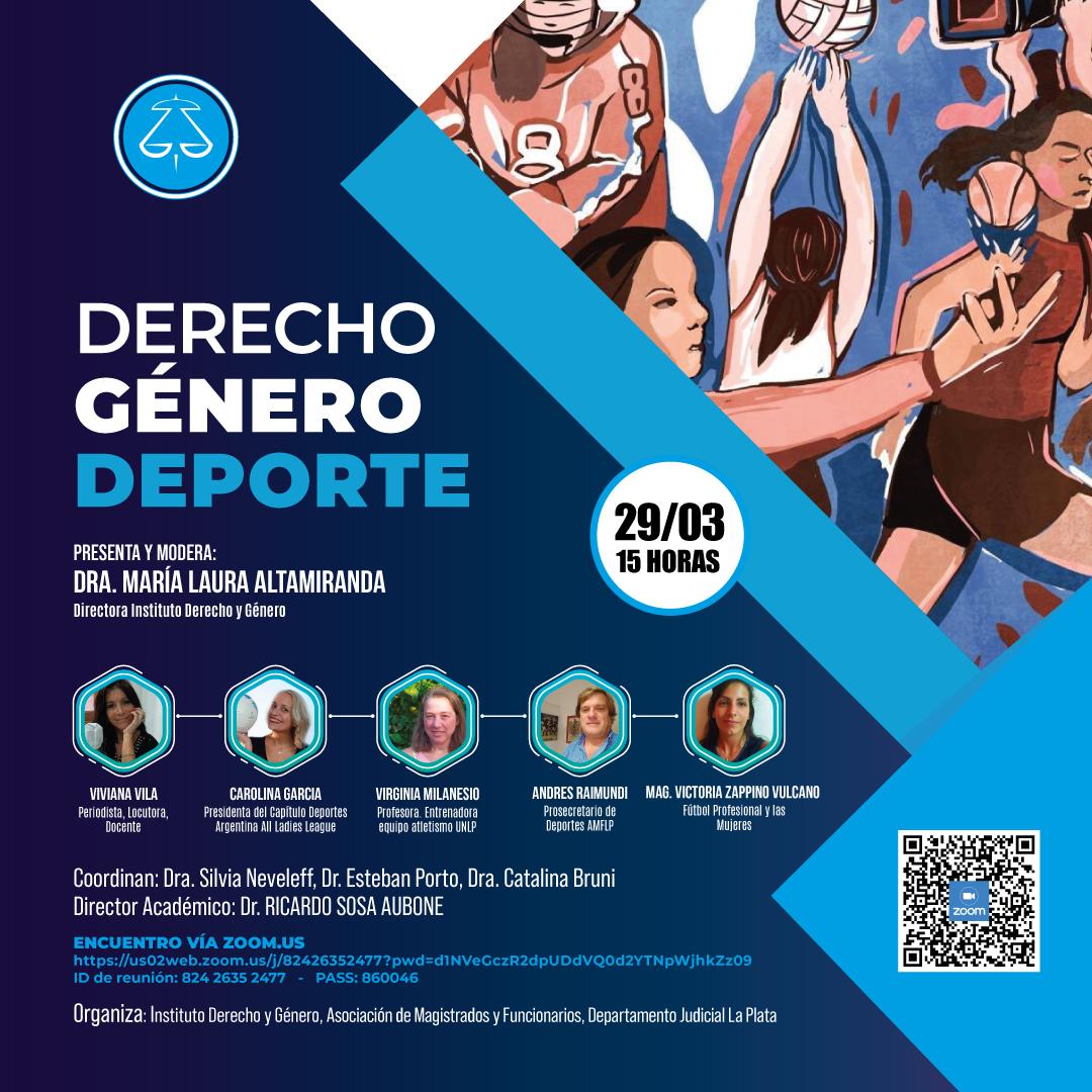 DERECHO - GENERO - DEPORTE