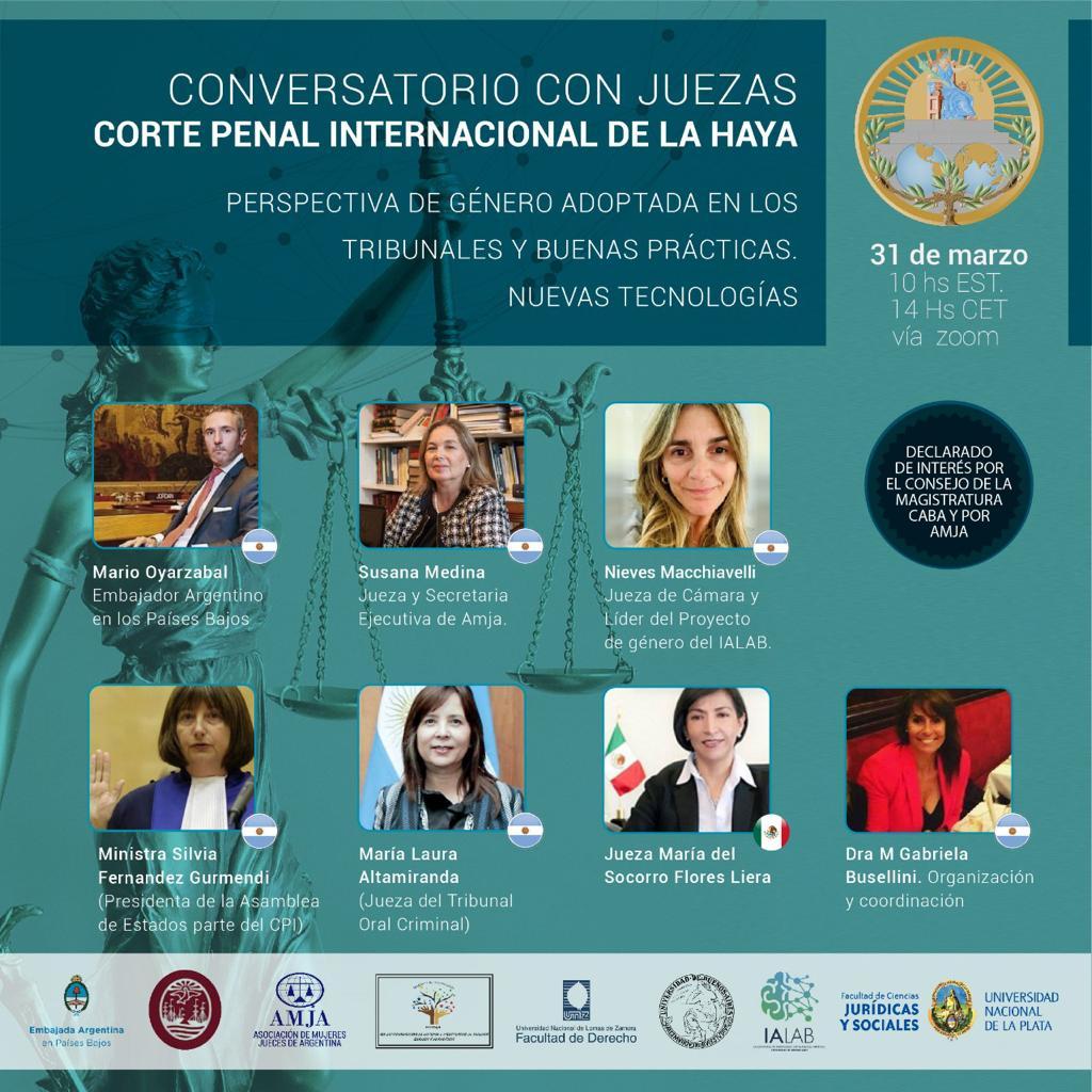 CONVERSATORIO CON JUEZAS: Corte Penal Internacional de La Haya