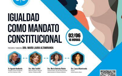 IGUALDAD COMO MANDATO CONSTITUCIONAL